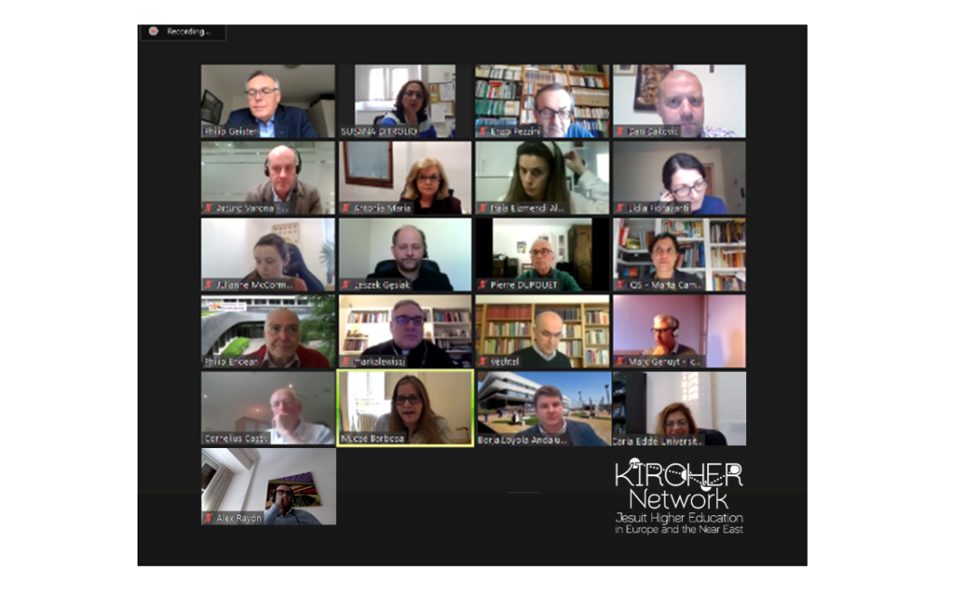 Kircher Network International Relation Officers met Online